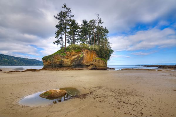 Crescent Beach Sea Stack Photograph for Sale as Fine Art.
