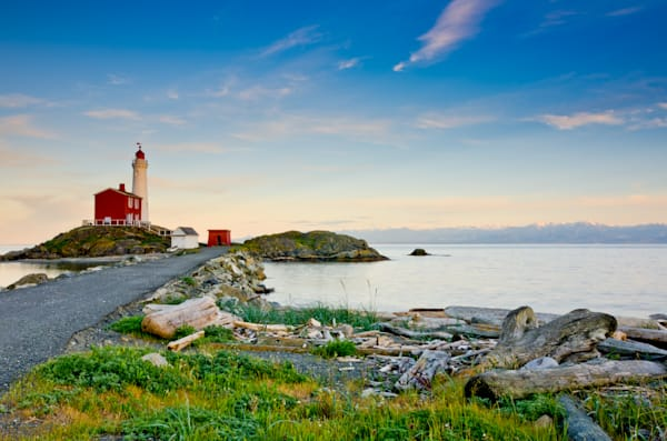 Fisgard Lighthouse Victoria Photograph for Sale as Fine Art.