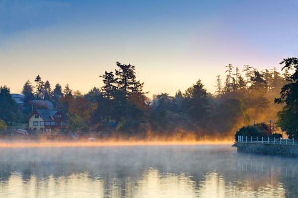 Gorge Waterway Sunrise Photograph for Sale as Fine Art.