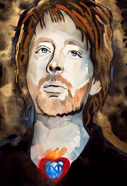Thom Yorke Art | William K. Stidham - heART Art