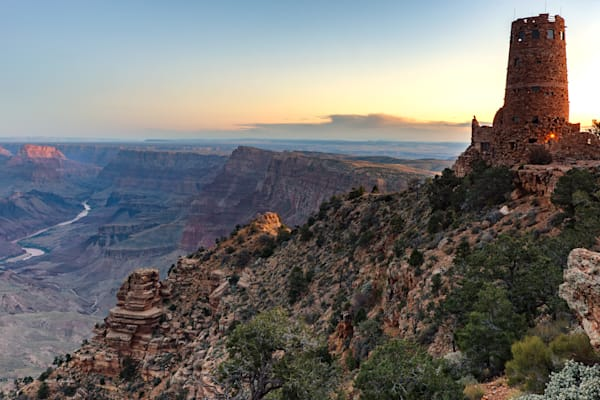 Desert View Watchtower (151330LNND8) Photograph for Sale as Fine Art Print