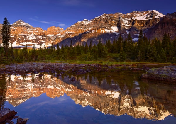Paradise Valley by Lake Louise. Banff National Park | Canadian Rockies | Rocky Mountains |