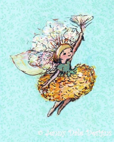 Dandelion Woodland Fairy