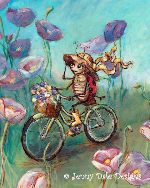 Ladybug's Bicycle Ride