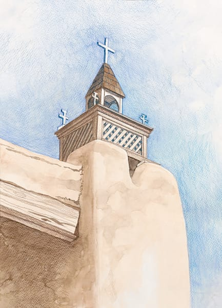 Grand Bell Tower Art | Fine Art New Mexico