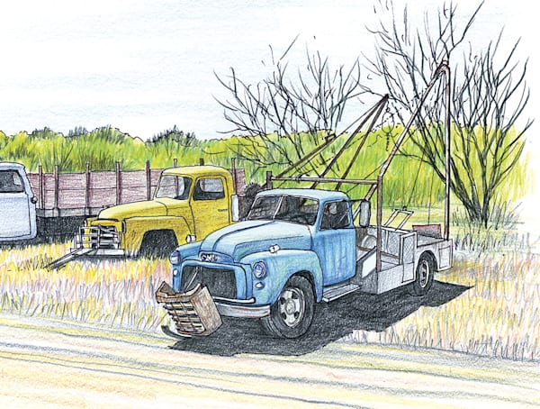 Tow Trucks, West Texas Art | Fine Art New Mexico