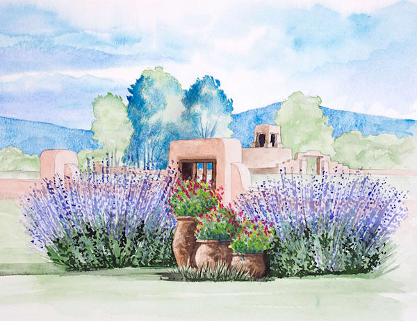 Russian Sage Art | Fine Art New Mexico