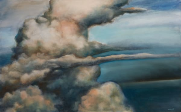 Cumulonimbus fine art oil painting by Bottinelli