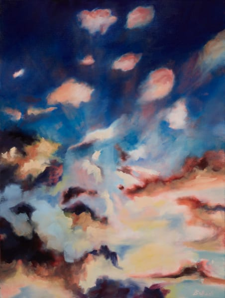 Colored Skies I fine art oil painting by Bottinelli