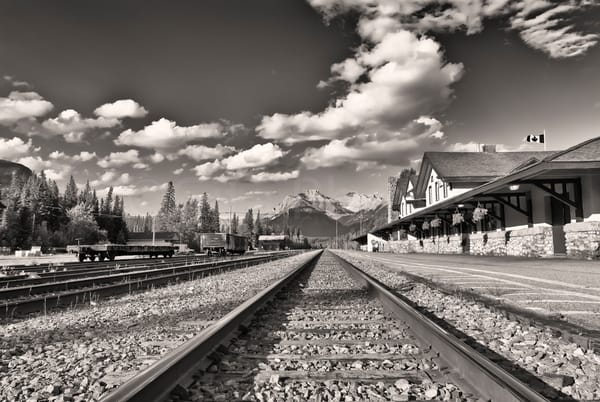 Banff also known as Siding 29. Banff National Park|Canadian Rockies|Rocky Mountains|