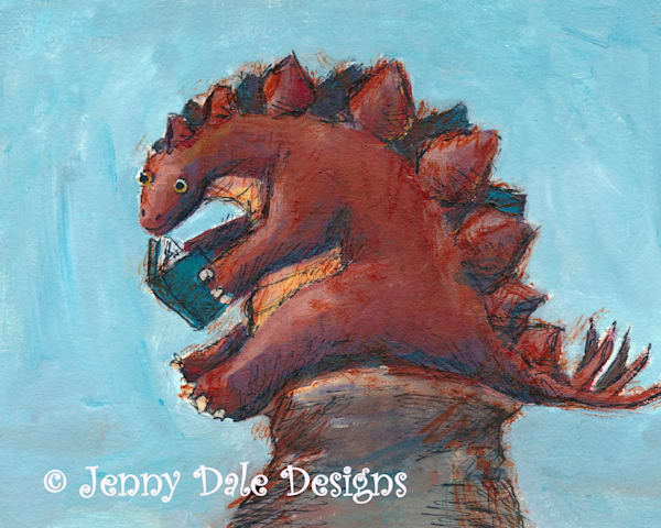 Stegosaurus Reading
