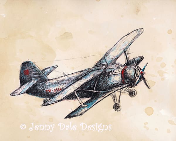 Vintage Airplane Version 3