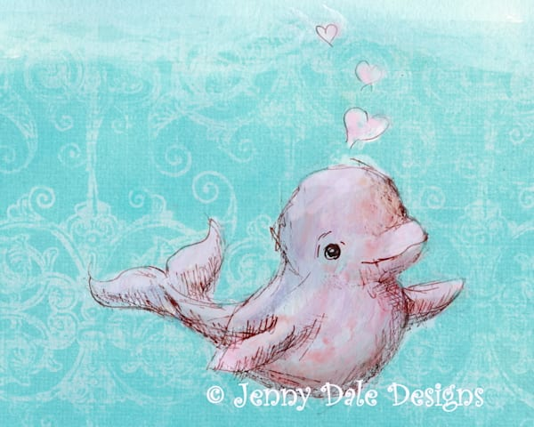 Ocean themed paintings, art prints for nurseries and bedrooms