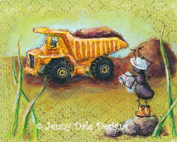 Ant Construction Crew: Tonka Dump Truck