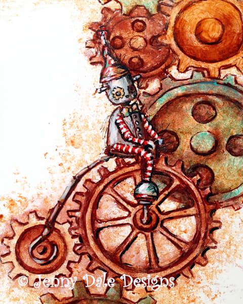 Tempo: Steampunk Clock Robot