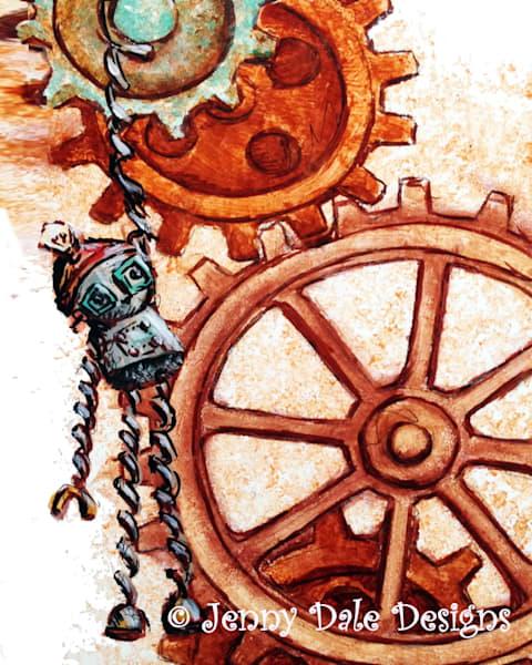 Tock: Steampunk Clock Robot
