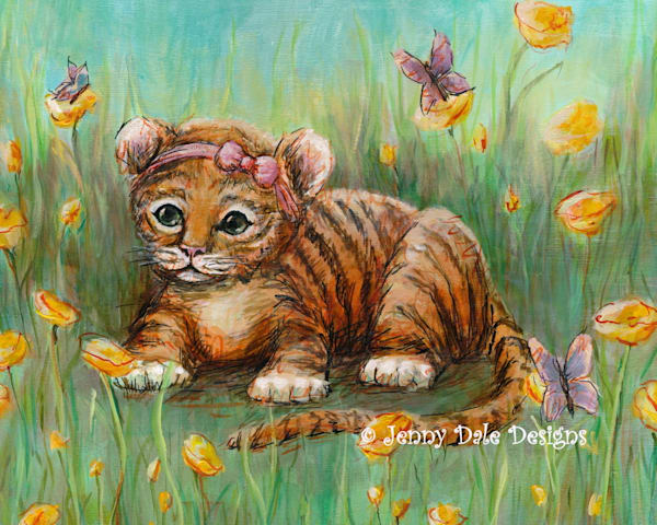 Tiger in the Buttercups