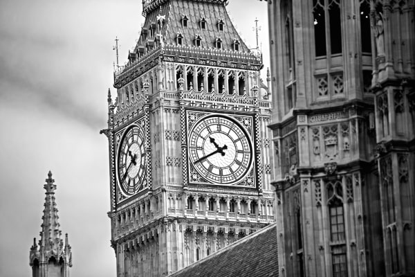 Westminster Abbey BW