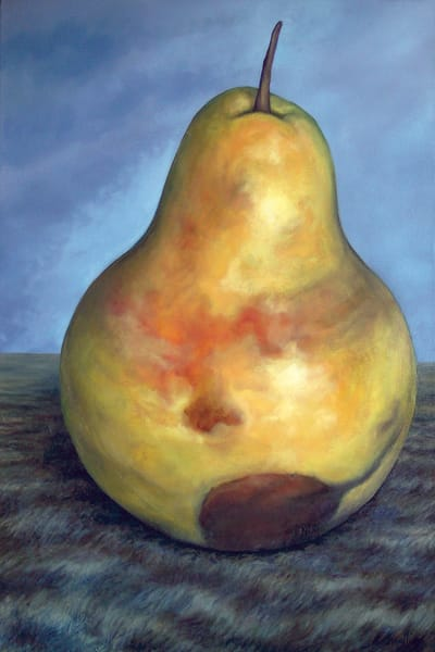 A Perfect Pear - custom size print