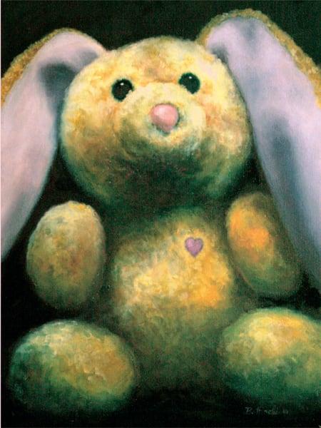 Rescued Rabbit - custom size print