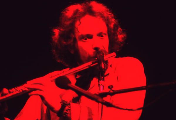 Ian Anderson / Jethro Tull H Red Photography Art | Mark Valinsky Photography