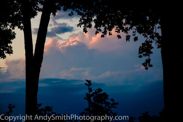 Sunset on the Storm fine art photograph
