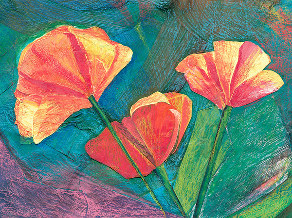 Poppies Art | Fine Art New Mexico