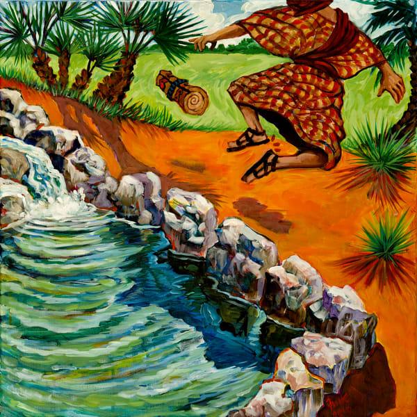 Original Acrylic Painting by Karen Calden Fulk at Prophetics Gallery