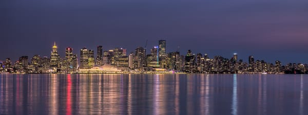 City Lights-Vancouver