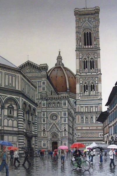 Piazza del Duomo, Rain
