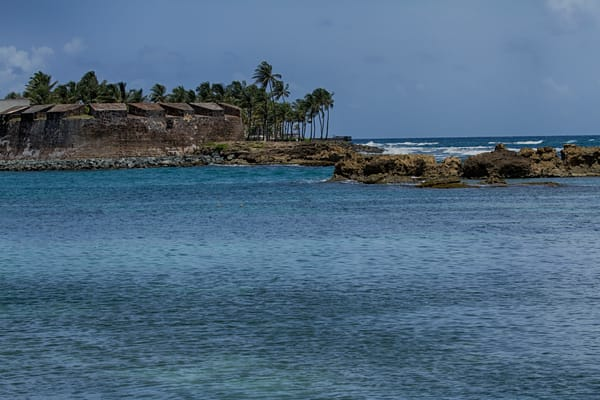 Shore in San Juan Fine Art Photograph