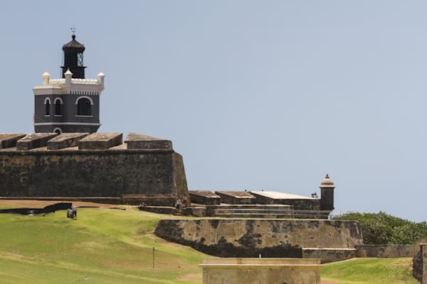 A San Juan Historic Fort Fine Art Photograph by Michael Pucciarelli