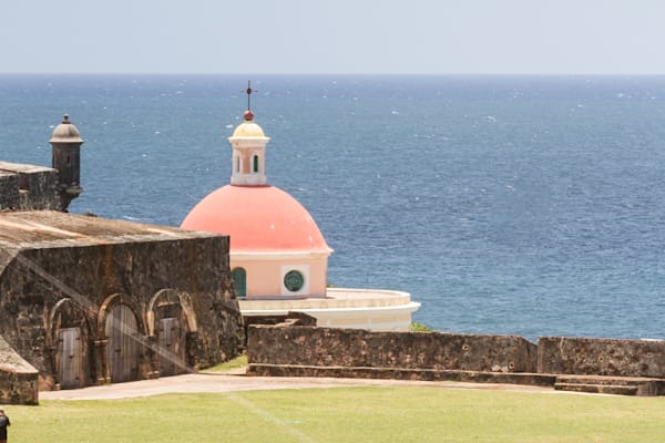 Fine Art Photograph of Military Fort in San Juan by Michael Pucciarelli