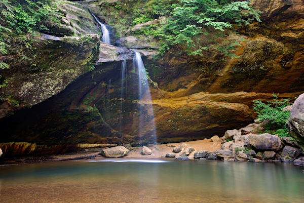 4163 4 5 4x6 Lower Falls Hocking Hills Photography Art | Cunningham Gallery