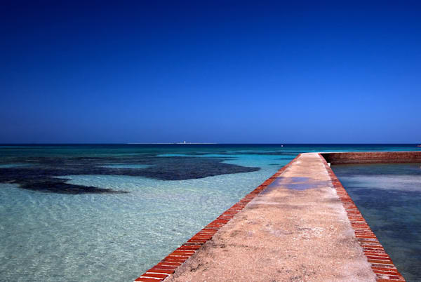 Photograph of Fort Jefferson Pier, Florida