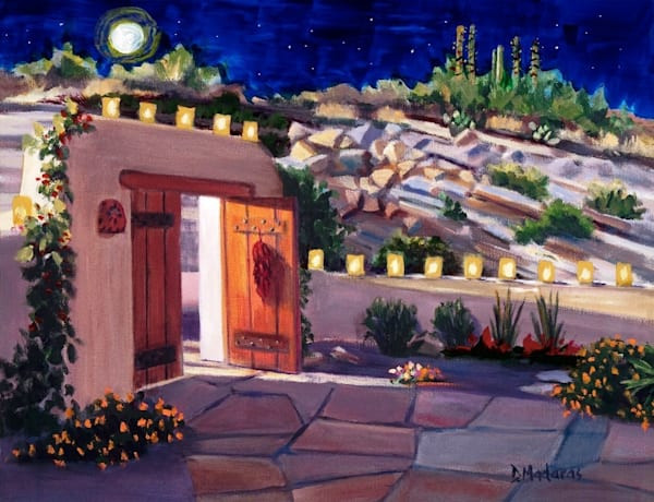 Welcome Home for the Holidays Card | Tucson Art Gallery