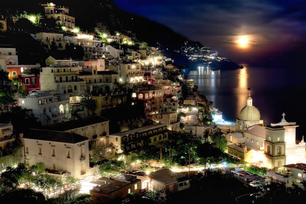 Photograph of Positano Italy