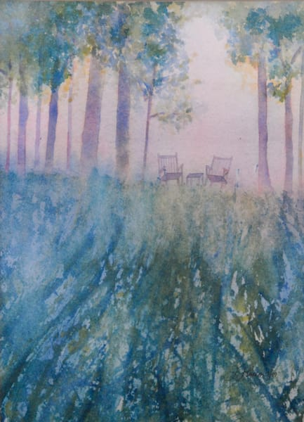 Watercolor by Judy Johnson at Prophetics Gallery