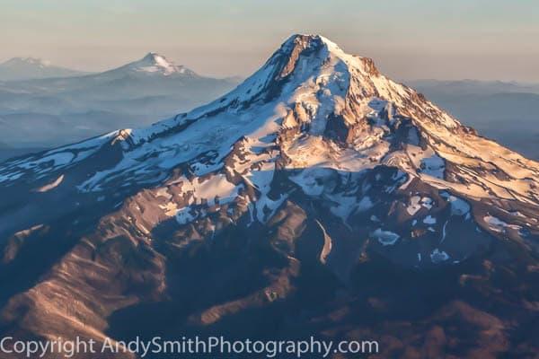 fine art photograph of Mount Hood in Sunset Light