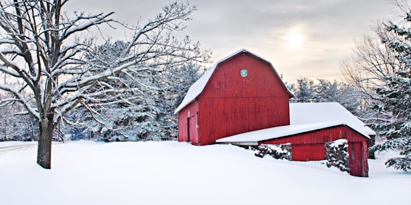 Red Barn Photography Art by peterwnek
