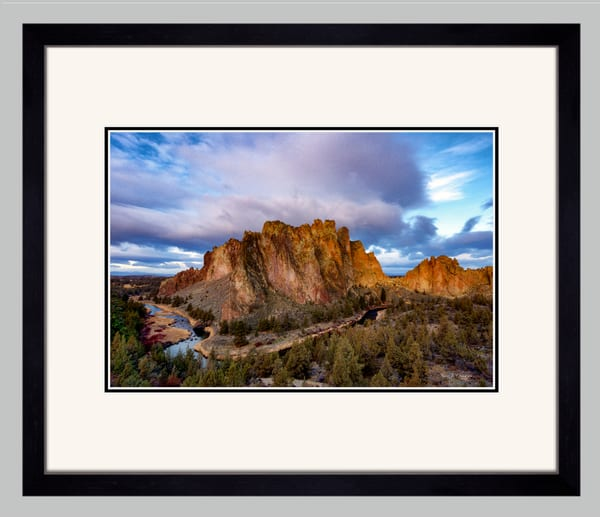Crooked Sunrise (141040LNND8) Smith Rock State ParkPhotograph for Sale as Framed Fine Art Paper Print