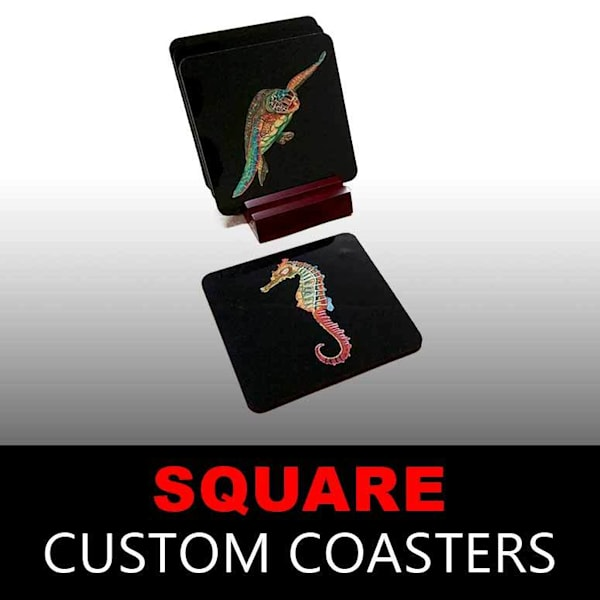 Custom Coasters - Square