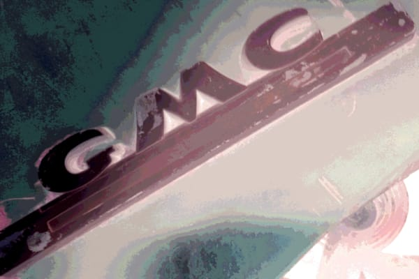 GMC Truck Art Photograph