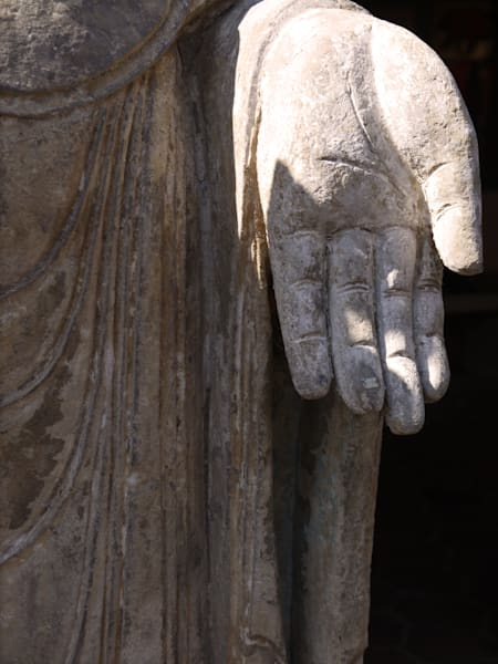 Inviting Buddha Hand art photograph