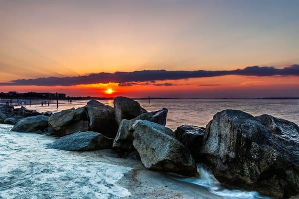 Tybee North Beach Sunset