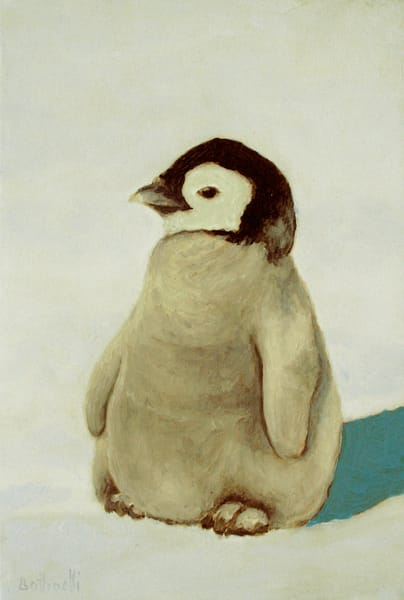 Penguin Chick - custom size print