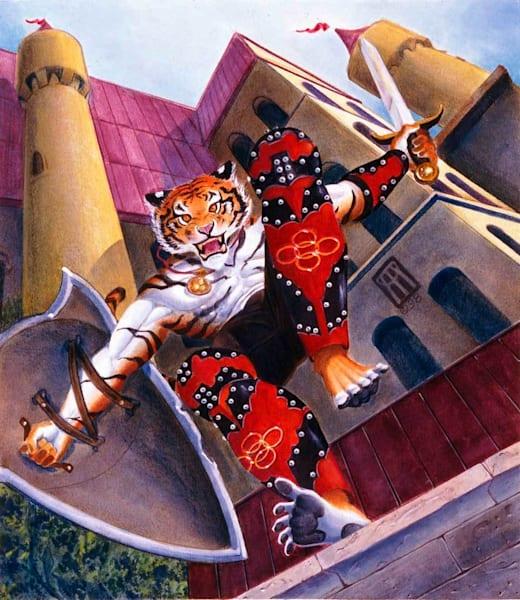 Kilvan S Greaves   Original Art   Melissa A Benson Illustration