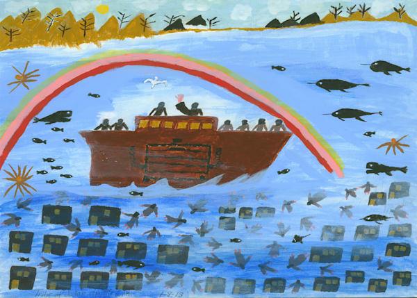 Noah's Ark & The First Rainbow