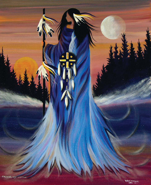 Evening Mist Woman by Wabimeguil