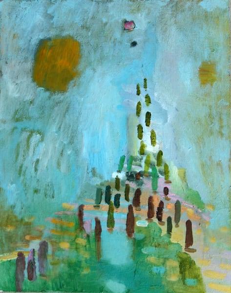 Celadon Walkway Art | Fountainhead Gallery